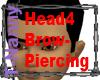 LeftBrow Piercing Head4