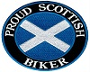 Scottish Biker Badge