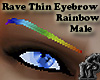 Rainbow Rave ThinEyebrow