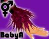 BA Pink Feather Cuffs
