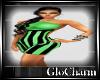 Glo* KatiDress~LimeGreen