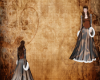 Royal Brown Winter Gown