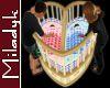 MLK Baby Heart Twin Crib