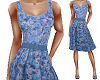TF* Blue Floral Dress
