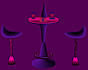 Pink/Purple Bar Table