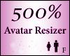 Avatar Resize Scaler 500