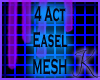4 Act Easel