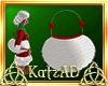 AD! Santa Baby Fur Purse