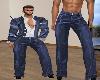 Brat ~ Blues  Pants