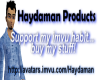 Haydaman sticker