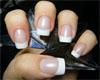 Сушим.Покрытие лаком 10 ногтей, сразу не бывает безукоризненным. .  Для этого существуют различные корректоры. .