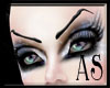 [AS] High Evil Brows-blk