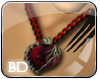 *Red Heart Necklace*