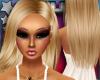 Long Blonde Wet Hair