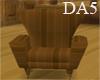 (A) Wood Tudor Chair