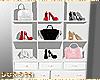 Bags ant heels closet