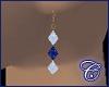 Sapphire/Diamond Dangles
