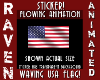 ANIM WAVING USA FLAG!