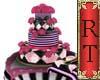 Pink&Blk Cake Ani/ Poses