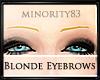 Thin Blonde Eyebrows M