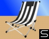 Black/White Beach Chair