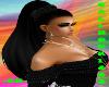 ~CH~Black Hair with Lash