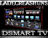 DSMART TV CherryWood