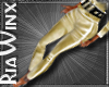 Gold Holiday Pants