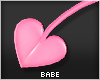 ♥Pink Heart Tail 3