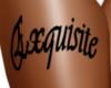 Exquisiite Thigh Tat