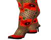 Poppy Heels & Stockings