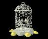 Wedding Dove Cage yellow