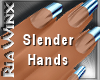 Wx:Slender Lt Blue Tip