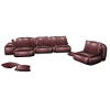 Leather Poseless Couch