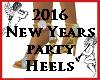 2016 New Year HIgh Heels