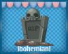 RIP Grave Sticker