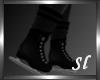 (SL) Black Ice Skates