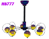 HB777 Hippie Smiley Lamp