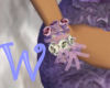*W* Lavender Corsage