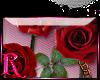 *R* Roses & Lock Sticker