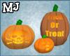 (T)Trick o treat pumpkin