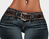 🍀 Belt jeans RL