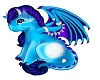 "Baby Blue Dragon""Mariah"""