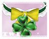 St Patricks Collar + Bow
