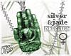 G` Buddhas Palm Jade . F