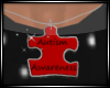 Autism Awareness Red