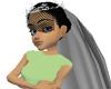[DML] Black wedding veil