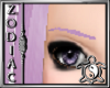Lilac thin eyebrows
