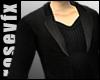Black Dress Coat blkshrt