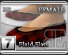 [BE] Red Plaid|Flats F